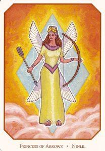 Принцесса стрел Вавилонское таро