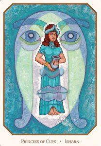 Принцесса чаш Вавилонское таро