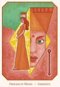 Принцесса жезлов Вавилонское таро